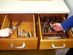 Αποθηκεύετε τα μαχαιροπήρουνα