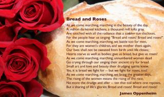 Παγκόσμια ημέρα της Γυναίκας. Ψωμί και τριαντάφυλλα