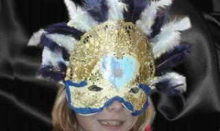 Φτιάξτε την δική σας αποκριάτικη μάσκα Χειροτεχνίες κατασκευές για παιδιά