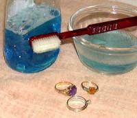 Φροντίδα και καθαρισμός των κοσμημάτων
