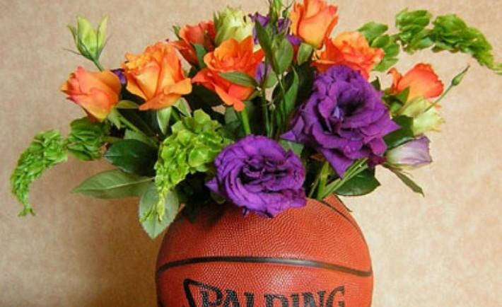 Σύνθεση σε μπάλα του Μπάσκετ