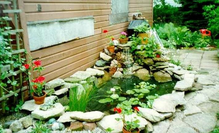 Προσθέστε το στοιχείο του νερού στον κήπο σας