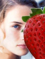 Μάσκες προσώπου με φρούτα εποχής.