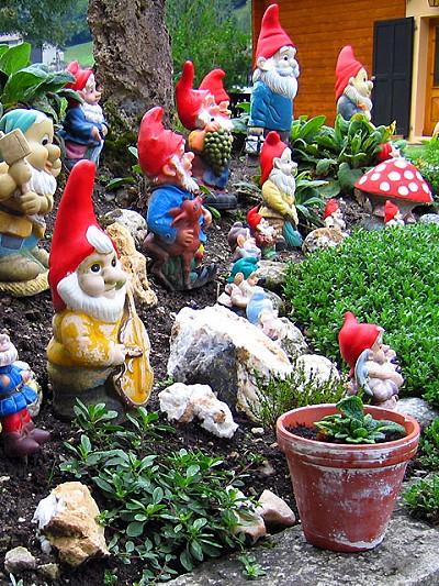 Οι νάνοι των κήπων