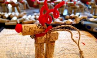 Χριστουγεννιάτικος τάρανδος από φελλό, κατασκευή για παιδιά