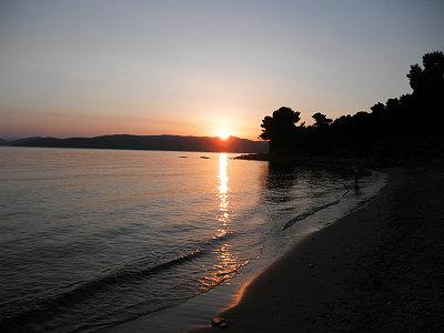 Μαγευτικό ηλιοβασίλεμα στην Αγία Ελένη