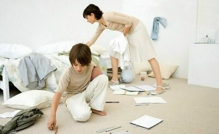Προεργασίες δωματίων και ετοιμασίες για επιστροφή στο σχολείο.