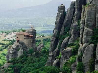 Μετέωρα. Τα μοναστήρια γίνονται ένα με το τοπίο