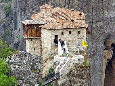 Η Μονή Ρουσάνου (ή Αγίας Βαρβάρας)