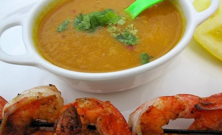 Καλοκαιρινή σάλτσα μάνγκο για ψάρια και θαλασσινά σχάρας