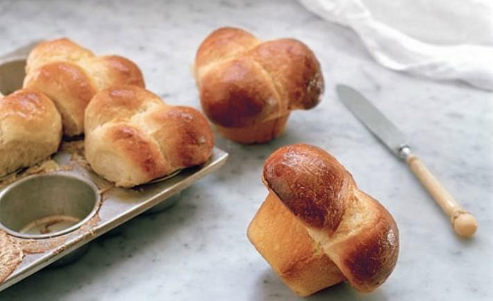 Σπιτικά ψωμάκια μπριός