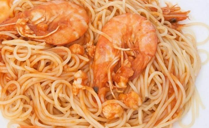 Σπαγγέτι με γαρίδες