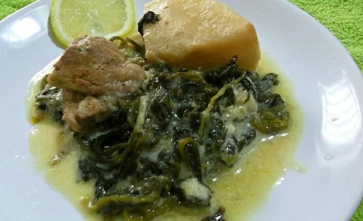 Χοιρινό με σελινόριζες