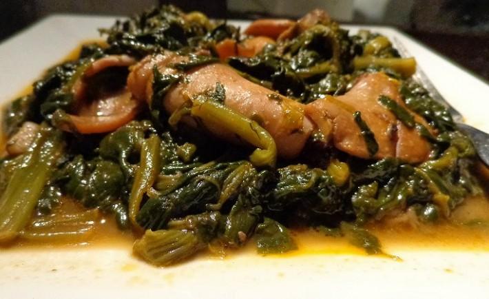 Σουπιές με σπανάκι (αγιορείτικη συνταγή)