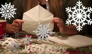 Φτιάξτε χάρτινες χιονονιφάδες