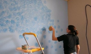 Βάψιμο: Η τεχνική με το σφουγγάρι