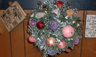 Φτιάξτε ένα χριστουγεννιάτικο topiary