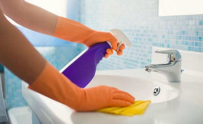 Καθαριότητα μπάνιου Πώς να καθαρίσω το μπάνιο