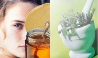 Μάσκα προσώπου με μέλι και ταχίνι