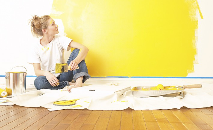 Βάψτε τους τοίχους μόνοι σας