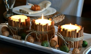 Δημιουργήστε ατμόσφαιρα με κεριά