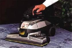 μηχάνημα καθαρισμού, με δόνηση και αναρρόφηση