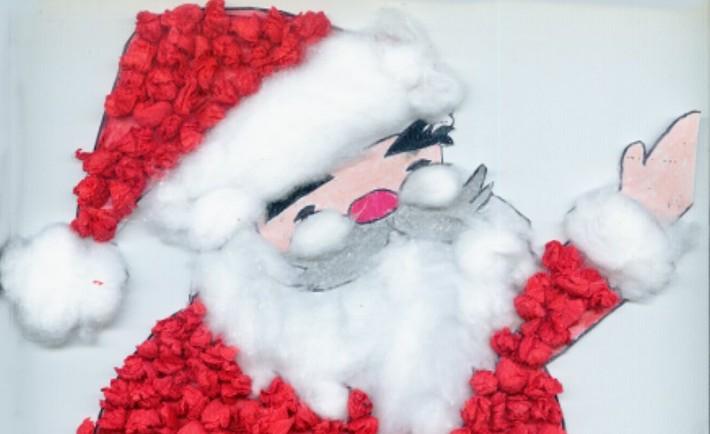 Άγιος Βασίλης χειροτεχνία για παιδιά