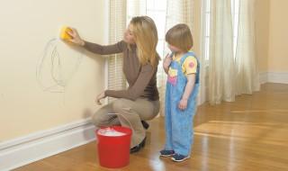 Πώς θα καθαρίζετε τους βαμμένους τοίχους