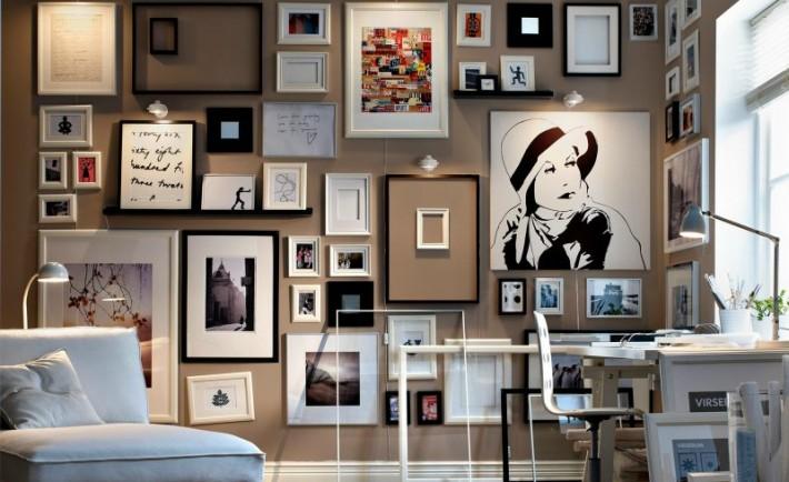 Τα έργα τέχνης στο χώρο σας