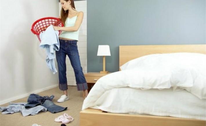 Συμμαζέψτε και καθαρίστε το υπνοδωμάτιο σε 15 λεπτά