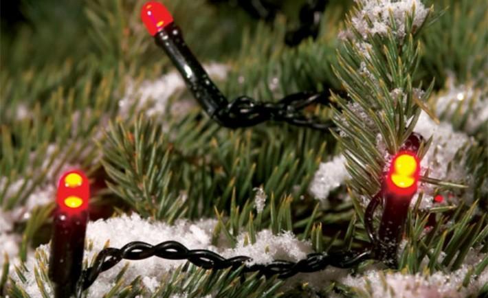 Χριστουγεννιάτικη βεράντα