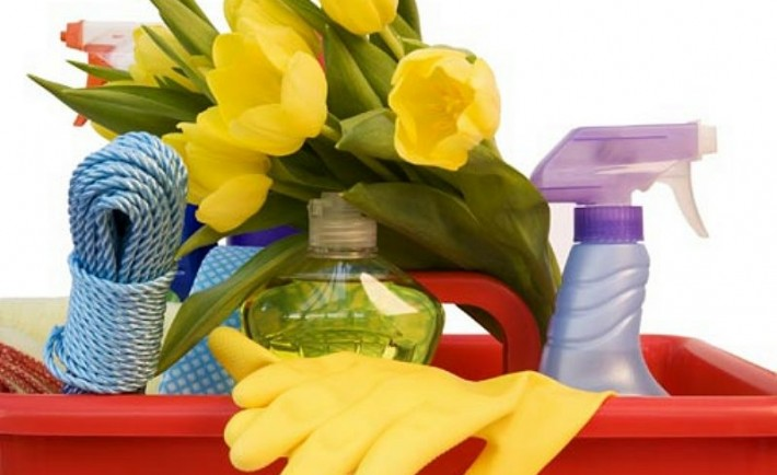 Ανοιξιάτικη καθαριότητα στο σπίτι
