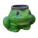Κεραμικό φυτοδοχείο βάτραχος