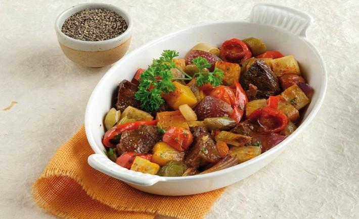 Χειμωνιάτικο μπριαμ λαχανικών με μοσχάρι