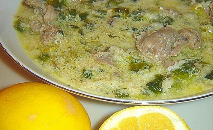 Σούπα Μαγειρίτσα με μανιτάρια Μανιταρόσουπα