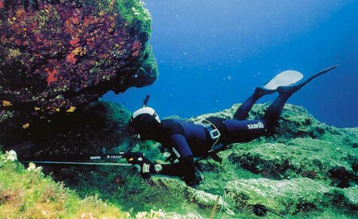 Υποβρύχιο ψάρεμα, αλλά με προσοχή