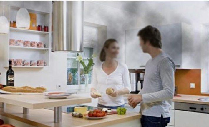 Το καθάρισμα και η μαγειρική ρυπαίνουν το σπίτι