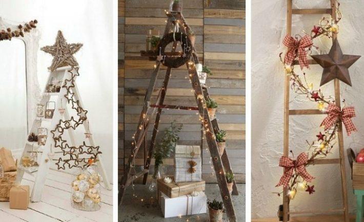 Χριστουγεννιάτικη διακόσμηση με σκάλες!