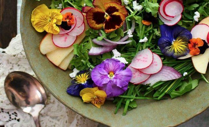 Βρώσιμα λουλούδια: 5 άνθη που μπορούν να μπουν στο πιάτο σας