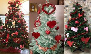 Μετατρέψτε το χριστουγεννιάτικο δέντρο σε δένδρο του... Αγίου Βαλεντίνου