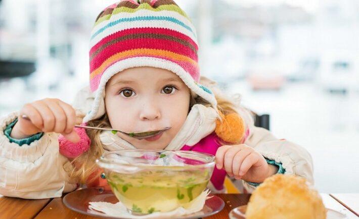Η διατροφή στις παιδικές ιώσεις