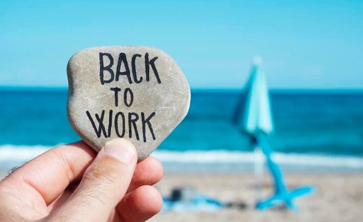 Επιστροφή στην εργασία μετά τις διακοπές